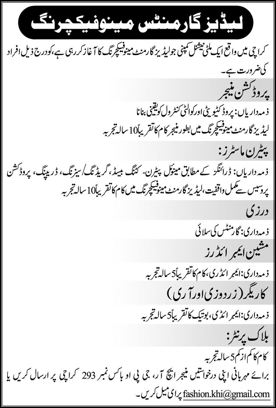 Writer Jobs in Pakistan