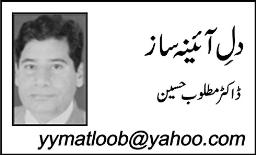 Column by Dr Matloob Hussain Published in daily express newspaper Pakistan