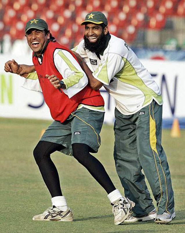 When Yousaf and Younis where good friends