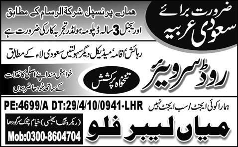 Surveyors Saudi  Jobs in Al Madinah