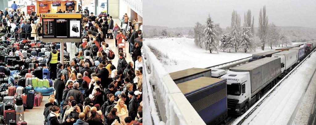 یورپ میں شدید برفباری 1101125516-1