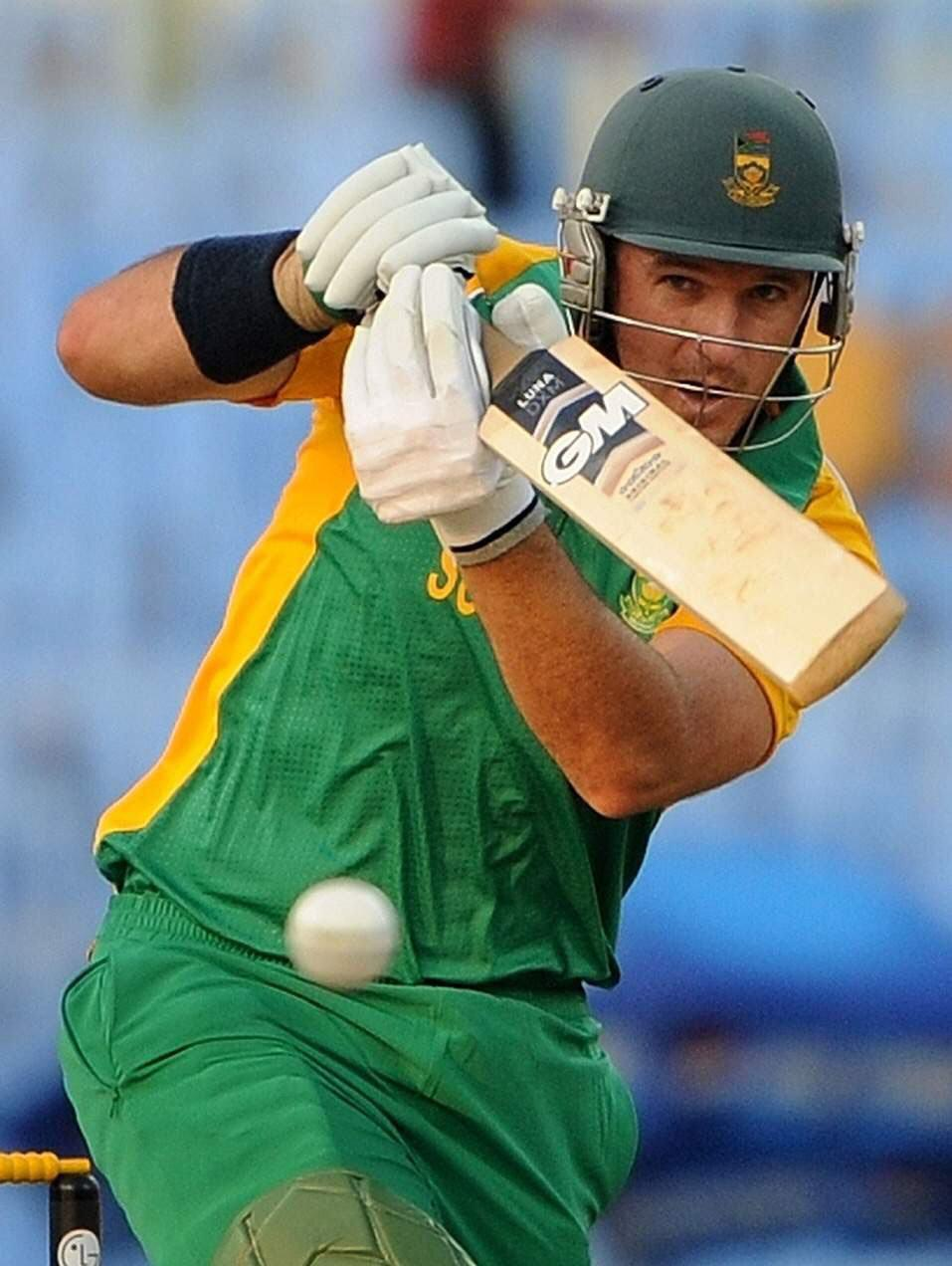 Graeme Smith Batting In Warm Up Vs Zimbabwe