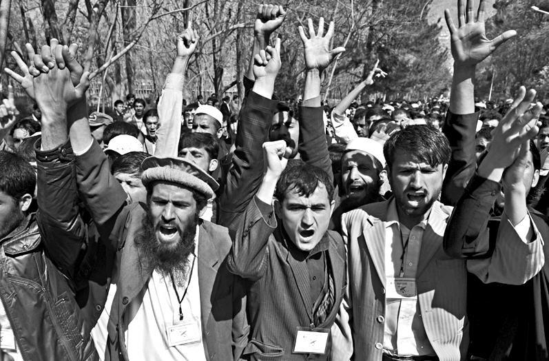 Protests in Afghanistan Against Burning of Quran By Terry Jones