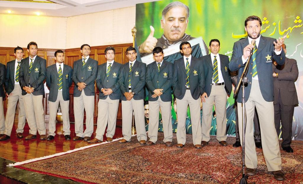CM Shahbaz Sharif Gives 5 Lakh Each to Pakistan Cricket Team